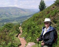 Walking holidays in Wales, UK, Britain, England, Scotland, Eire, and Europe, walking and hiking holidays with baggage transfer.Celtic Trails walking holidays