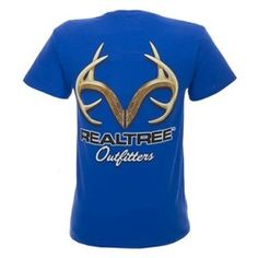 Realtree Outfitters Men's Short Sleeve Logo T-shirt.
