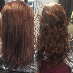 Extensions Before and after by Ashlie Casto