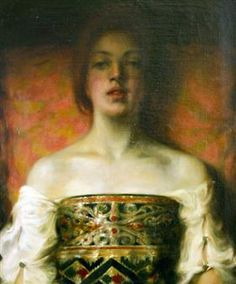 The Oriental Woman - Kimon Loghi Spiritual Reality, Art Database, Human Condition, Figurative Art, Mona Lisa, Cool Designs, Oriental, The Past, Symbols