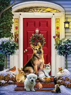 The Welcoming Committee a 1000-Piece Jigsaw Puzzle