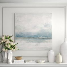 Sky Painting, Painting Prints, Watercolor Paintings, Canvas Prints, Art Prints, Beach Paintings, Watercolor Sky, Oversized Wall Art, Abstract Images