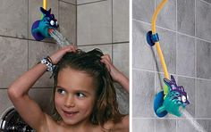shower head extenders for kids bathrooms :)