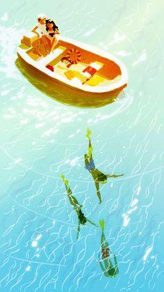 Pascal Campion #illustration #art