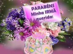 Resultado de imagem para parabéns irmã Birthday Cake, Youtube, Irene, Birthday Message To Sister, Happy Birthday Sms, Birthday Cards, Good Night, Friends, Peace