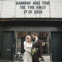 Ellie and Alex had a beautiful art deco inspired Stoke Newington wedding in London shot on film by Peachey Photography