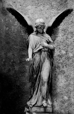 Forgotten Angel Statue ~ By radischen28