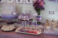 purple birthday party - Google Search