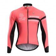 2015 Long Sleeve Cycle Jersey Aspiration Jacket Red Cycling Jerseys cebdfb975