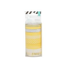 Find the Heidi Swapp™ Washi Tape Tube, Yellow at Michaels