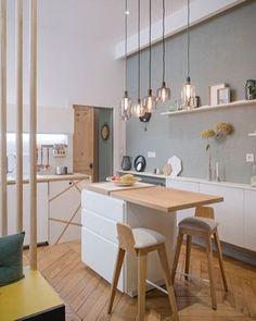 Wat een leuke keuken #lanoemarion #interieur #inspiratie #homedeco #weekend