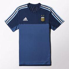 adidas - Camiseta de Entrenamiento Selección Argentina 2014 2015 39916aaa14e23