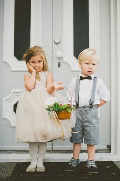 Pin for Later: These Adorable Flower Girls and Ring Bearers Completely Stole the Show at Their Weddings