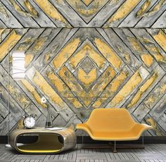 Image result for digital wallcovering rustic