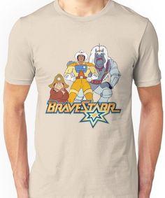 BraveStarr - Thirty Thirty, Fuzz and BraveStarr - Color Unisex T-Shirt