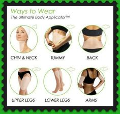 It Works Ultimate Body Applicator - Tighten, tone, & firm at home. Detox wrap!