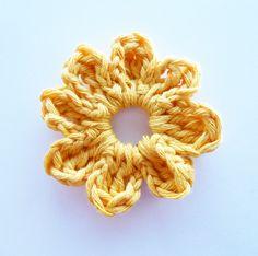 Crochet Flower. Free pattern!