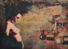 Black Chopper Down Syndrome Mixed Media Canvas, Mixed Media Art, Saatchi Online, Down Syndrome, Art Uk, Buy Prints, Urban Art, Art Boards, Saatchi Art