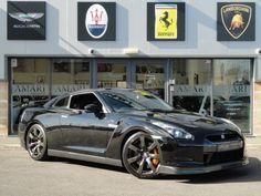 NISSAN GTR V6 TWIN TURBO BLACK EDITION
