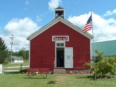 Otsego County Fair | Little Red School House - Gaylord Michigan