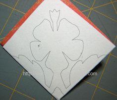 hawaiian quilt card