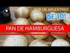 Pan de Hamburguesa al estilo Argentino, paso a paso!!!🍔 - YouTube Eggs, Breakfast, Youtube, Food, Healthy Nutrition, Hamburgers, Entry Ways, Step By Step, Style