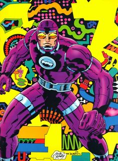 Machine Man by Jack Kirby