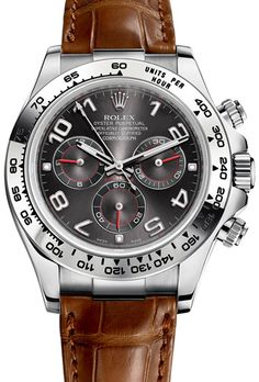 Rolex Daytona Chronograph Model: 116519-WHGLD