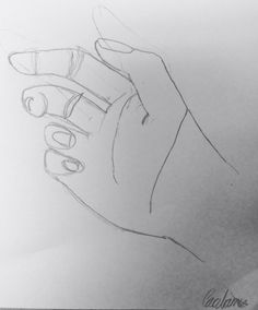Modified contour of hand by Carolann