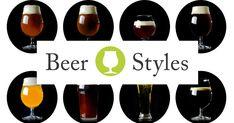 This craft beer styles guide covers everything! So informative. Brewing Recipes, Beer Recipes, Beer Factory, Beer Online, Beer Brewery, Brewing Equipment, Beer Festival, Beer Lovers, Home Brewing