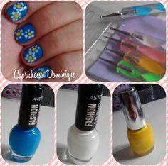 Flower nails design