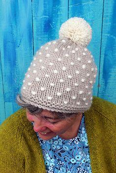 Ravelry: Polka Knot Hat pattern by Ellen Mason