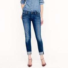 goldsign jenny selvedge jeans @ jcrew