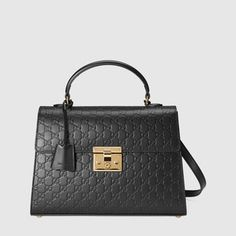 Padlock Gucci Signature top handle