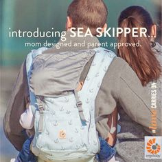 sea skipper | ergobaby original collection baby carrier #ergobaby #lovecarrieson