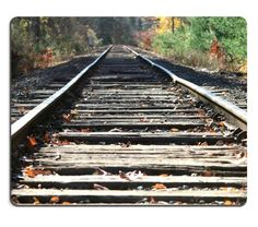 Country Railroad Tracks Train Autumn Mouse Pads Customized Made to Order Support Ready 9 7/8 Inch (250mm) X 7 7/8 Inch (200mm) X 1/16 Inch (2mm) High Quality Eco Friendly Cloth with Neoprene Rubber MSD Mouse Pad Desktop Mousepad Laptop Mousepads Comfortable Computer Mouse Mat Cute Gaming Mouse_pad *** Continue to the product at the image link.