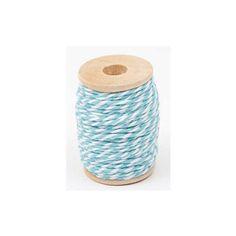 Garen blauw/wit - http://credu.nl/product/garen-blauw-wit/