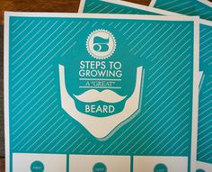 How to Grow a Great Beard Poster by themattnovak (via Creattica)