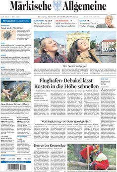 Samstag, 19. Mai 2012 - Mehrkosten beim Flughafen in Schönefeld von einer Milliarde Euro befürchtet » http://www.maerkischeallgemeine.de/cms/beitrag/12330032/62249