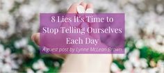 This is a guest post by Lynne McLean Brown. Not so long ago, I believed that I didn't have time for my dreams and goals.  I treated myself like the least valuable person in my family. Ironically, I was extremely valuable, as I was focusing solely on what everyone else around me needed. I became depressed and was hit with the realisation that seeing the people I cared for grow and succeed was awesome, but just wasn't enough.  Making myself a priority was incredibly hard to learn but it has…
