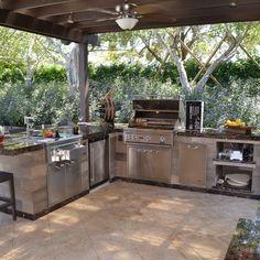 une cuisine d 39 ext rieur est ce un luxe la cuisine de jardin permet de profiter cuisine d. Black Bedroom Furniture Sets. Home Design Ideas