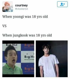 aghhh who made this alright alright let's leave predebut yoongi alone