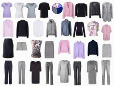 The Vivienne Files: Starting From Scratch Wardrobes. Very interesting series on building a wardrobe from scratch, each wardrobe based on a popular color scheme.