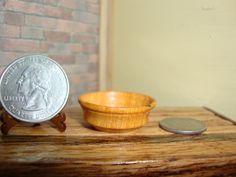 "Dollhouse Miniature 1:12 Cookware & Tableware Bowl OOAK by ""Oppi"" #HO5 #HandcraftedMiniaturesbyOppi"