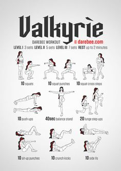 Valkyrie Workout