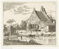 Anthonie van den Bos   Huis Snaatburg te Maarssen, Anthonie van den Bos, 1802  