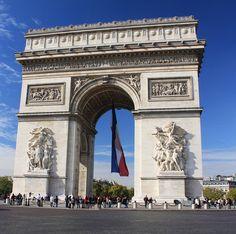 Arco del Triunfo. Paris by pablo.mazorra, via Flickr