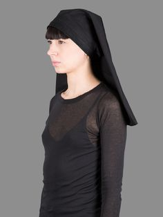 Rick Owens Cleo hat with leather details #rickowens