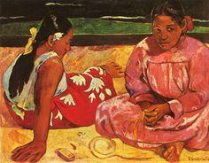 Paul Gauguin - Tahitian Women on thr Beach