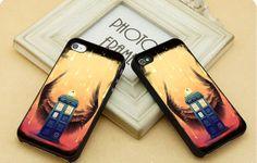 supernatural tardis  FIT for iP4iP5 Samsung by CasebyMarsha, $14.00
